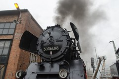 BR 50 3648-8 (giver40 - Sergi) Tags: dresden dampflok steamlocomotive locomotora vapor steam dampfloktreffen sajonia drehscheibe br50 locomotorasdevapor humo smoke