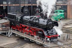 BR 50 3648-8 (giver40 - Sergi) Tags: dresden dampflok steamlocomotive locomotora vapor steam dampfloktreffen sajonia br50 drehscheibe rotonda