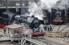BR 50 3648-8 (giver40 - Sergi) Tags: dresden dampflok steamlocomotive locomotora de vaporrotonda vapor steam dampfloktreffen sajonia br50 drehscheibe