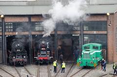 BR 58 511 (giver40 - Sergi) Tags: dresden dampflok steamlocomotive locomotora de vaporrotonda vapor steam dampfloktreffen sajonia drehscheibe