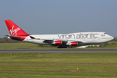 Virgin Atlantic Airways Boeing 747-4Q8 G-VBIG MAN/EGCC 19/04/19 (bhx_flights) Tags: egcc man airport manchester manchesterairport boeing boeing747 jumbo jumbojet virgin virginatlantic