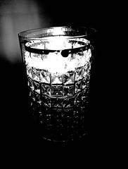 A Light Drink (spratpics) Tags: alightdrink lightdrink light photographybypaulwalker paulwalker uk teesside blackandwhite artisticphotography monochrome darkart avantgarde minimalist