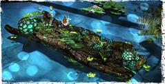 ~*SR*~ & ~*TD*~ Bayounimba Tree Log - Snail_001 (Mondi Beaumont) Tags: fantasy faire 19 2019 11th ff rfl relayforlife relay for life fight cancer sweet revolutions ~sweet revolutions~ ~sr~ telperion designs ~telperion designs~ ~td~ deco decorations mesh bayounimba garden gardening sim building crafting plants animals swamp elf elven voodoo cult cultural sl secondlife second snail tree log nature
