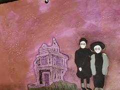 Haunted (limerickme) Tags: mixed media art journal