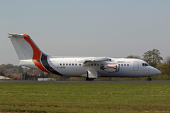 BAE RJ85 (G-JOTR) Jota Aviation (boeing-boy) Tags: mikeling boeingboy southend jotaaviation