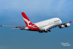 VH-OQC QF A380 34L YSSY-8731 (A u s s i e P o m m) Tags: sydney newsouthwales australia qantas qf qfa airbus a380 syd yssy sydneyairport