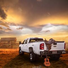 Chevrolet 3500 LTZ Dually (thiago.r.dantas) Tags: pickup carro caminhonete 4x4 farm fazenda sunset por do sol