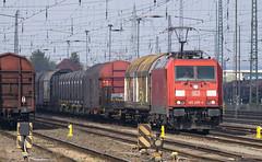 185209 Magdeburg-Rothensee, Germany, 07/04/2019 (Waddo's World of Railways) Tags: magdeburgrothensee magdeburg rothensee germany class185 db dbcargo loco electric rail train railway yard 185209