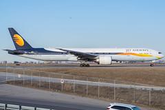 My last Jet Airways (Ychocky) Tags: 50mmf18 boeing77735rer cyyz jetairways nikkor torontopearson vtjeh yyz