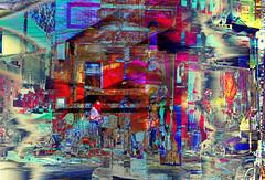 N/S High Street Hijinks (Paul B0udreau) Tags: nikkor1855mm photoshop canada ontario paulboudreauphotography niagara d5100 nikon nikond5100 layer columbus ohio city urban collage people police street