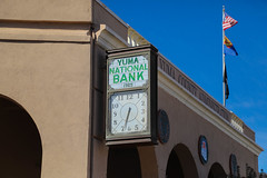 Yuma National Bank Clock Sign (Mick L.) Tags: sign bank clock yuma