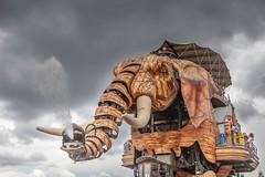 Les machines de l'ile, Nantes (patrick Thiaudiere, thanks for + 2.5 millions view) Tags: nantes elephant machine bois articulé articulation robot trompe eau water jetdeau