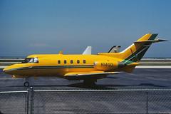 N14GD Hawker Siddelly HS-125-600A at KBKL (GeorgeM757) Tags: n14gd burkelakefront cleveland bizjet classic aircraft aviation alltypesoftransport airport kbkl hawkersiddelly hs125 businessjet georgem757
