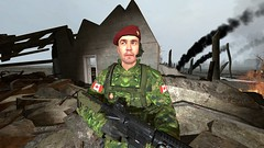 A sense of relief (ClaudetheSpeedster) Tags: gmod half life 2 rp canadian army npcs canada