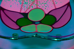 Inside (Dreaming of the Sea) Tags: macro nikond7200 tamronsp90mmf2811macro wednesdaymacro lightshade spots green blue pink purple silver shadow red