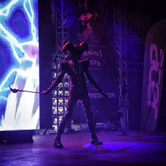 AnimeS Expo 2019 (BG): Day 2 Cosplay Contest: Yu-Gi-Oh! Dark Magician (SpirosK photography) Tags: cosplay contest cosplaycontest animesexpo2019 animesexpo portrait stage onstage performance bulgaria sofia solocosplay yugioh darkmagician game videogame videogamecharacter