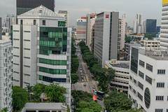 Street & trees (Peter.Stokes) Tags: singapore holiday colourphotography photography city cityscape