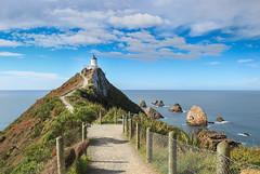 Nugget point lighthouse - Otago - New Zealand (Valentin.LFW) Tags: newzealand nouvellezeland south hemisphere photographer photography canon aotearoa birds wildlife landscape auckland