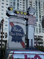 PABST BLUE RIBBON BEER LAS VEGAS NEVADA