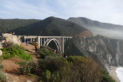 Bixby Creek Bridge (ivlys) Tags: usa california route1 bixbycreekbridge brücke bridge berg mountain landschaft landscape natur nature ivlys