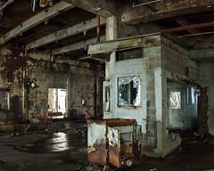 Paper Mill 610 B (jim.choate59) Tags: jchoate on1pics urbex decay factory abandoned brokenglass rust willamettefalls blueheronpapermill willamettefallslegacyproject scary leaking dark damp dangerous rx100