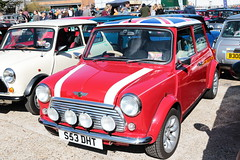 1998 Rover Mini Cooper S53DHT Brooklands Mini Day March 2019 (davidseall) Tags: 1998 rover mini cooper car s53dht s53 dht red original classic old style shape great british brooklands day march 2019 weybridge surrey uk