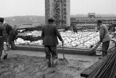 Construction of the Willis Building in Ipswich c1970's Photo's by Alf Jefferies (Photos by Alf Jefferies) Tags: willis ipswich construction building pumpcon 1970s photos by alf jefferies mydadsoldphotos no hiviz or much health safety men working
