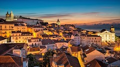 Old town of Lisbon, Portugal (monte-leone) Tags: lisboa lisbon lissabon stadtansicht city portugal stadt städte cities panorama