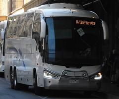 7375AO (damoN475photos) Tags: 7375ao dineengroup westernportroadlineskooweerup 68 scania k380ib irizar century3900 exgreyhoundaustralialivery ex917375aomorelandbuslines brunswick victoria vline train replacements flindersst 2019