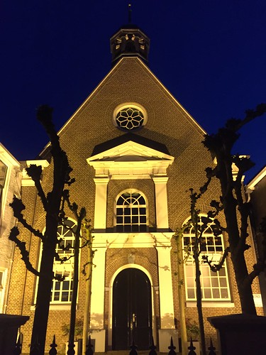 Old baptist church in Joure (The Netherlands 2019)