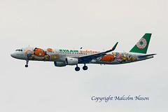 A321 B-16205 EVA AIR special colours (shanairpic) Tags: jetairliner passengerjet specialcolours taipei taoyuan a321 airbusa321 evaair b16205