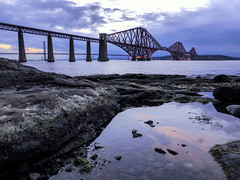 The firth of forth railway bridge, Queensferry, Scotland, United Kingdom (Frans.Sellies) Tags: p1090813 uk unitedkingdom scotland