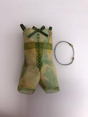New green romper, pijama (jenniffervalverde) Tags: poppyparker momoko barbie mattel fashionmodel pajama doll clothes romper