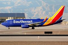 Southwest Airlines | Boeing 737-700 | N468WN | Las Vegas McCarran (Dennis HKG) Tags: aircraft airplane airport plane planespotting canon 7d 100400 lasvegas mccarran klas las southwest southwestairlines swa wn boeing 737 737700 boeing737 boeing737700 n468wn