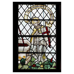 St George (badger_beard) Tags: st george georges day 23rd april patron saint england english stained glass peter paul church clare suffolk
