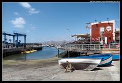 Puerto Del Carmen Old Town Harbour (jason_hindle) Tags: puertodelcarmen canaryislands lanzarote olympus1240f28 spain restaurants olympuspenf adobephotoshopcc adobelightroomcc oldtown bars harbour boats