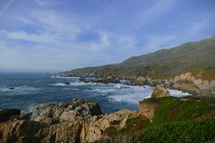 Rough Coast (ivlys) Tags: usa california route1 pazifik pacific ozean ocean küste coast rau rough hund dog landschaft landscape natur nature ivlys