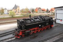Harzer Schmalspurbahnen 99 7245 te Weringerode (vos.nathan) Tags: harzer schmalspurbahnen br 99 baureihe 7254 weringerode hsb