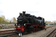 Lößnitzgrundbahn 99 1789 te Radeburg (vos.nathan) Tags: br 99 baureihe lösnitzgrundbahn radeburg 1789