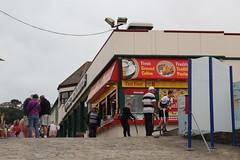 """Fancy a Burger ?"" (Snappy Pete) Tags: building fastfood amusementarcade people slipway westwardho torridge northdevon england uk greatbritain"