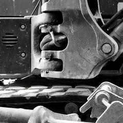 Macchinario astratto N.4. Abstract machinery N. 4 B&W (sandroraffini) Tags: abstract reality realtà astratta ossimoro machinery macchinario bw sony dsc rx100 arw raw gimp industrial everiday maintenance manutenzione gas pipes condotti life vita quotidiana sandroraffini minimalismo minimalism industriale bologna cantiere dockyard urban exploration fragments decay chronic city labour work lavoro riquadro square