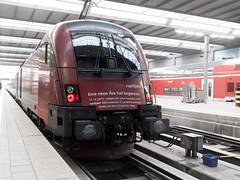 Taurus (-BigM-) Tags: münchen hauptbahnhof railway eisenbahn station bayern db bigm deutsche bahn germany deutschland öbb österreich taurus 1116