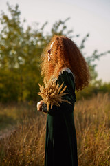 sun in hair (Melodyphoto3) Tags: portrait photo photography canon art artphoto fineart redhead color summer sunlight bokeh vintage