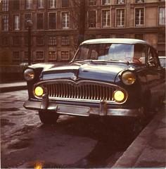 Simca Versailles 1956 (ogollain) Tags: simca versailles 1956 vintage antique lehavre instamatic 1982