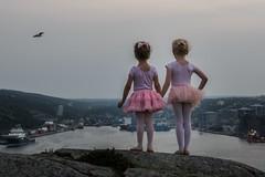 Take more Chances ... (vanessa violet) Tags: ballet dance water ocean city sea harbour takemorechancesdancemoredances vanessaviolet