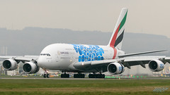 A6-EOF A380-861 Emirates (kw2p) Tags: a380861 a6eof airbus aircraft airlineoperator airport aviation egpf emirates airline aeroplane airplane kw2p gaaec glasgowairport egpfgla scotland a380