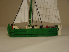 Bowsprit removed (argo naut) Tags: lego gun third rate ship line historical marine napoleonic era british empire model history bricks frigate vessel rigging trafalgar waterloo brethren brick seas corrington sea rats oleon orion carriage wagon cart