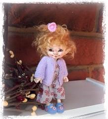 Jozee, waiting for spring! (Jonquil O) Tags: fairyland realpuki pupu bjd tiny fairy