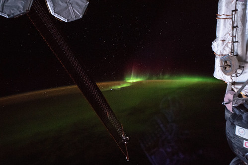 """The aurora australis, also known as the """"southern lights"""""""