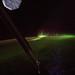 The aurora australis, also known as the